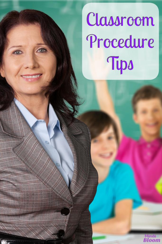 Classroom Procedure Tips