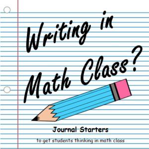 Writing in Math Class?