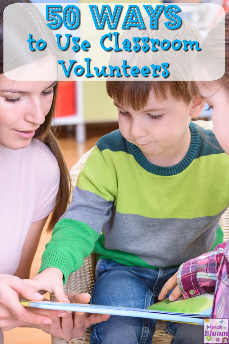 As part of the Bright Ideas Blog Hop, Rachel shares a list of 50 ways teachers can use classroom volunteers. Outsource tedious and time-consuming tasks to classroom volunteers like parents, grandparents, and former students!