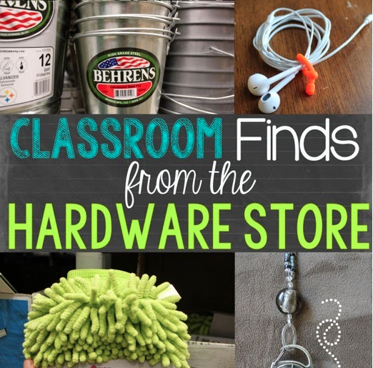 Classroom Finds From the Hardware Store - Minds in Bloom