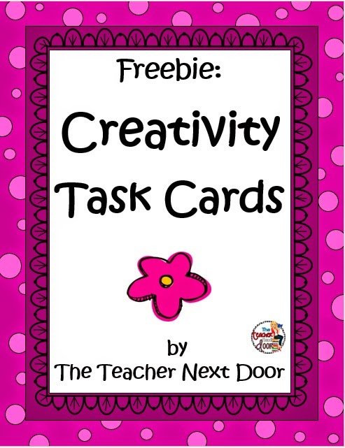 Creativity Task Cards