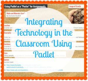 Have you considered using Padlet in your classroom as a way to integrate technology? Our guest blogger's post gives a tutorial on how to get started using Padlet, so click through to get all the details!