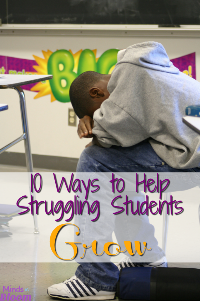 10 Ways to Help Struggling Students Grow