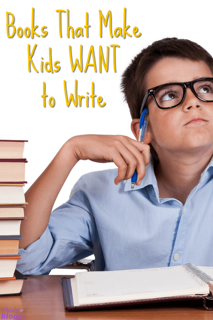 Books that make kids want to write DO exist! Many kids miss the connection between reading and writing, which is an essential connection and understanding for them to have in their education. Our guest blogger shares five books that make kids want to write in this post. Your kids will be chomping at the bit to write after reading these books, too!
