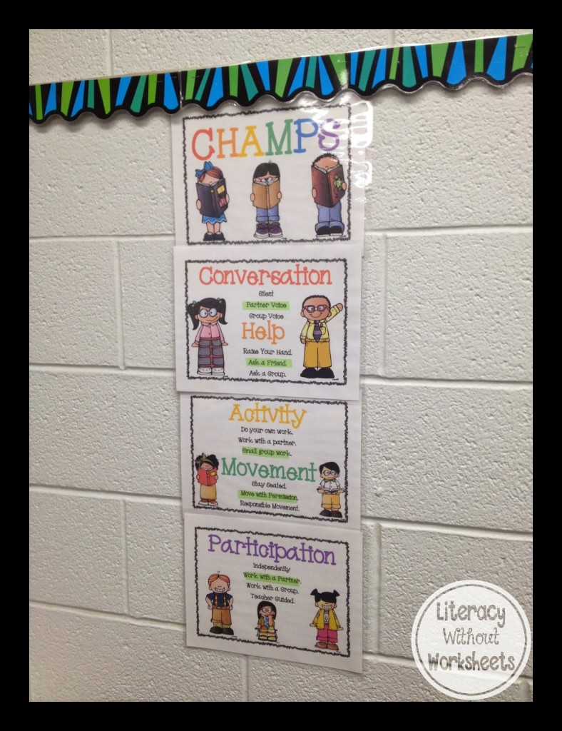 Have you heard of the CHAMPS system for classroom management? This is a great tool for elementary classrooms, and it's a useful way to teach students your classroom expectations. Our guest blogger shares information about what CHAMPS is and how it works in her classroom and school. Click through to read all of the details!