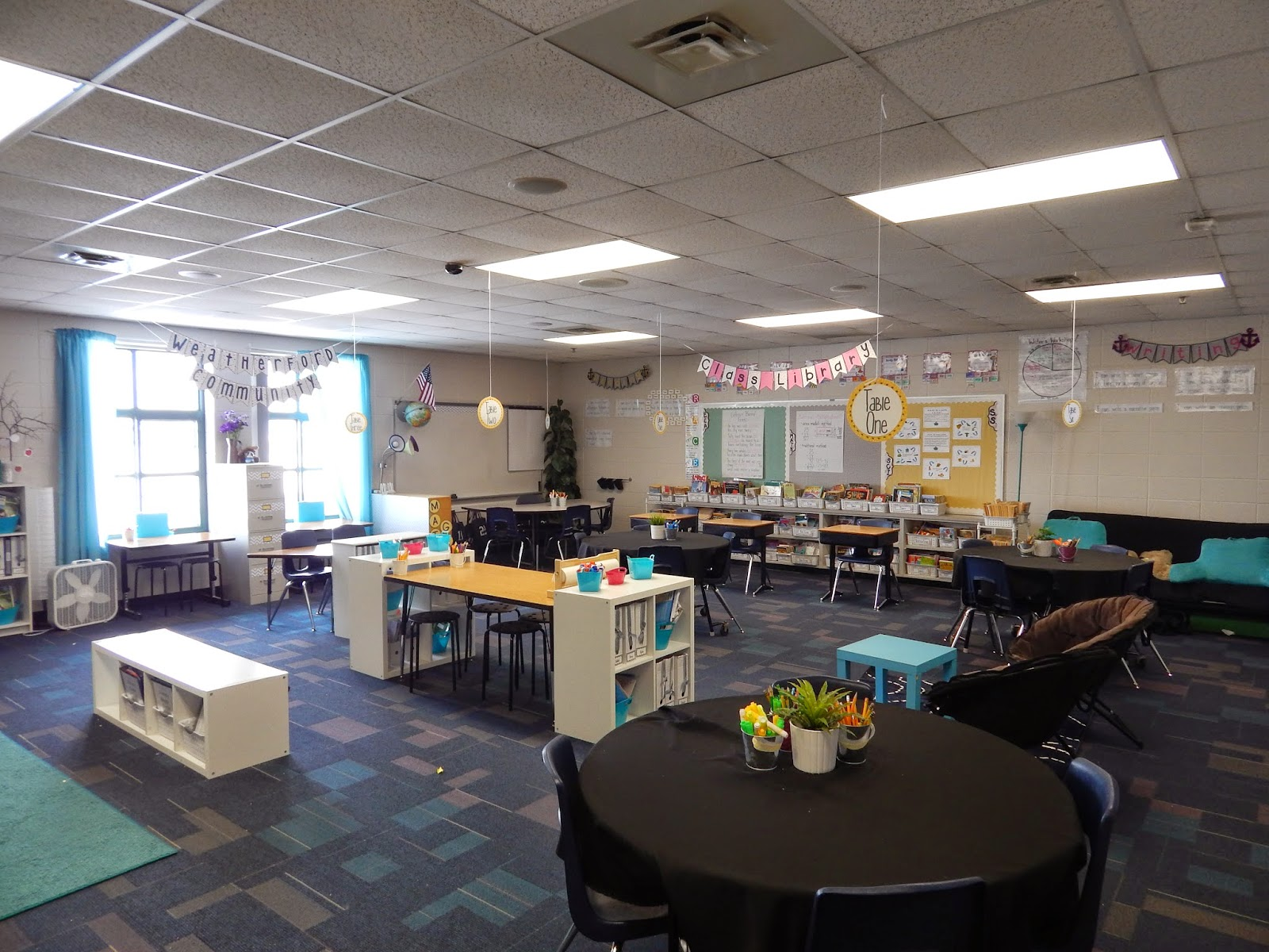 Modern Classroom Facilities ~ New classroom set up encouraging self directed learning