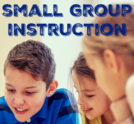 small group math instruction strategies