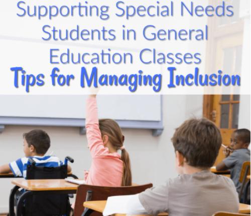 Special Education Inclusion Classroom