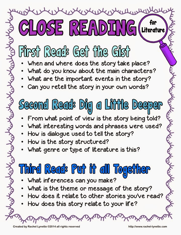 Close reading for literature is like a salt: It must be used sparingly in order to be effective. In this post I detail several ways that you can enhance close reading, when it comes to literature, so that your students are truly digging deeper into the text without getting overwhelmed and bored. Check out my Close Reading for Literature Toolkit, as well!