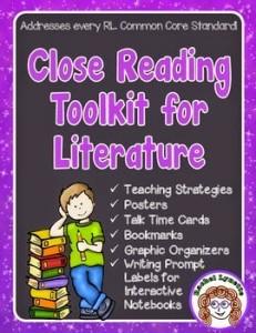 Close Reading for Literature (Fiction) plus a Freebie!