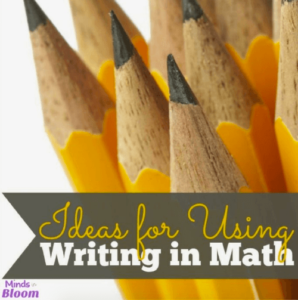 Ideas for Using Writing in Math