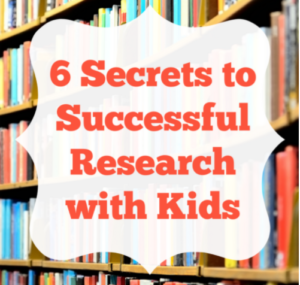 6 Secrets to Successful Research with Kids
