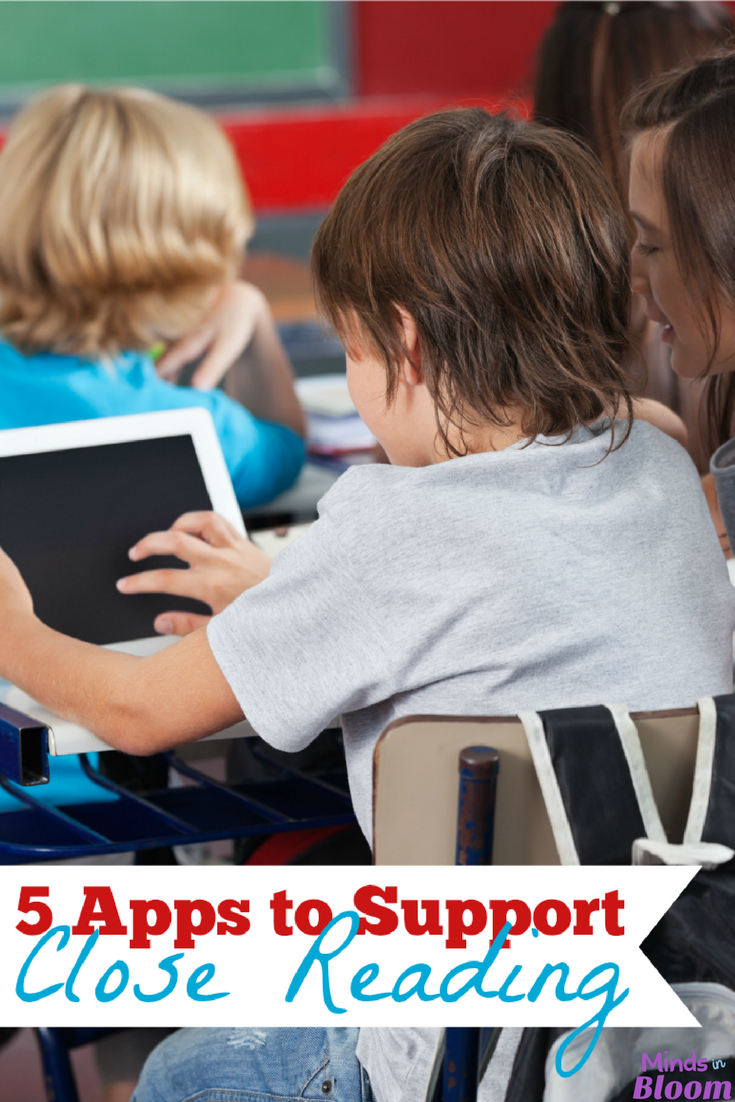 Close reading has become a widely popular instructional technique in classrooms all around the world, and apps often help make instruction easier and smoother. Therefore, we're confident that you'll love this guest post about five apps that support close reading - five apps to make your life easier and to support such a strong teaching method! Close reading has never been easier with the help of these apps.