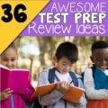 Test Prep Review Ideas