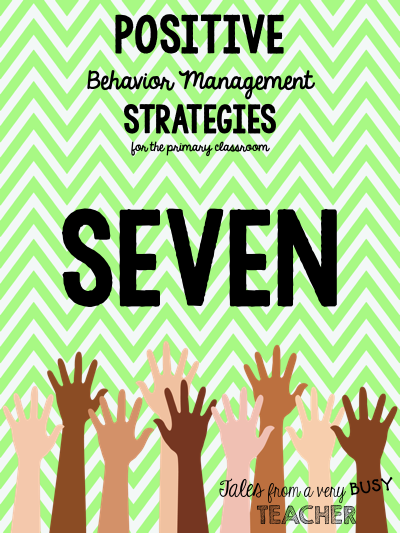 Classroom management techniques have a tendency to focus on the negative. Check out this post for 10 tips on using positive behavior management strategies instead.