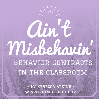 Read a school counselor's step-by-step guide to implementing behavior contracts in your classroom! While this information is helpful for all teachers, it's especially helpful for new teachers, so be sure to share with a first-year teacher that you know!