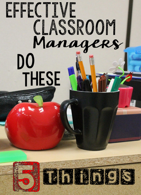 Worried that you'll never nail down your classroom management techniques? Read this guest post to learn five things all effective classroom managers do.