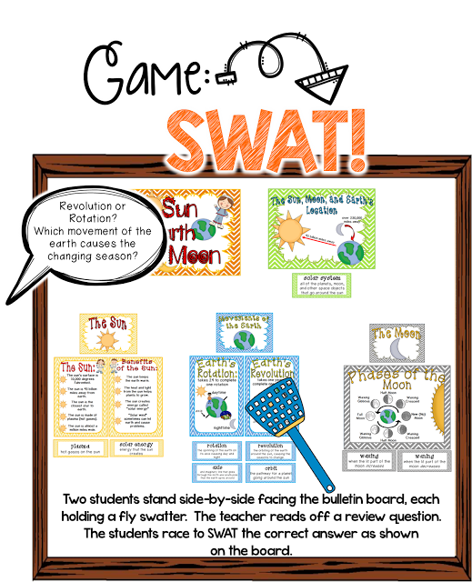 This Minds in Bloom guest blogger shares some really great tips on turning bulletin boards into classroom games. There are a variety of games that you can play once you've completed a bulletin board WITH your students. Who knew?!