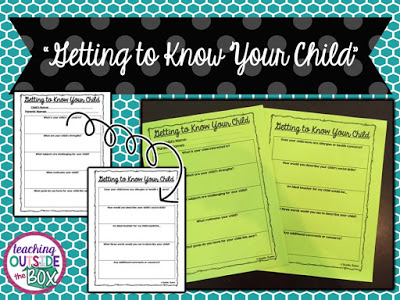 "Getting to know your students' families is an important step at the beginning of each new school year. Some schools have ""Back to School"" or ""Meet the Teacher"" nights, and some schools require home visits. This guest blogger shares the system in her school, where teachers have ""chats"" with families to help them learn important information about their students."