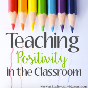 Teaching positivity is sometimes easier said than done, but this guest post provides concrete tips for teaching it and using games to encourage positivity.