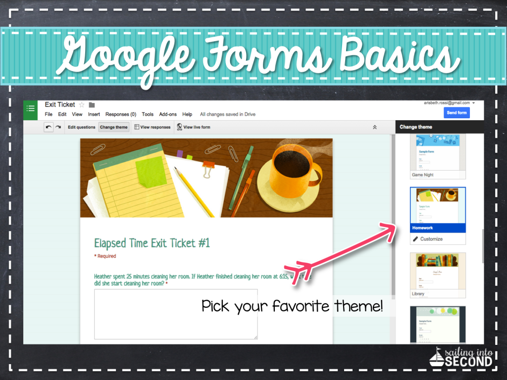 using google forms in your classroom is an easy environmentally friendly and paperless