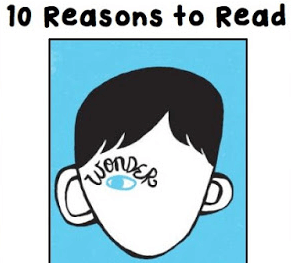 Ten Reasons to Teach Wonder by RJ Palicio to Your Students.
