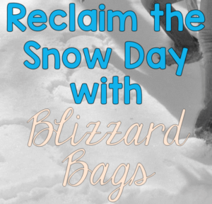 Does your school district institute eLearning days when the district has to call a snow day? Lessen your students' missed days of learning with these blizzard bags! You can digitize them or send packet work with students. Click through to learn more about blizzard bags!