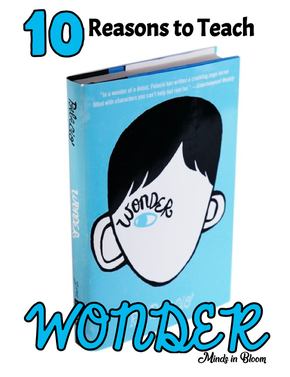 Wonder is an amazing book to share with your students. Here are 10 reasons why.