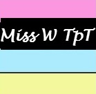 Miss W TeachersPayTeachers logo