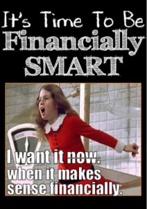 It's Time to Be Financially Smart