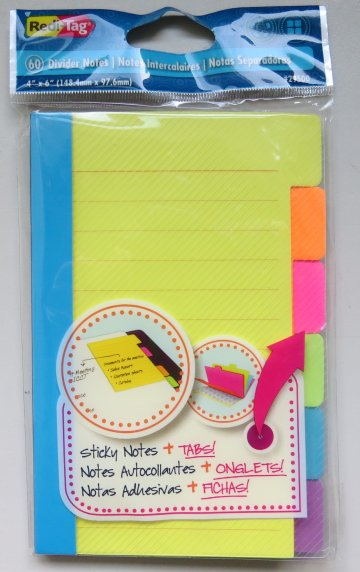 Sticky Notes with Tabs