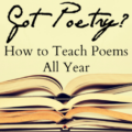 Poetry shouldn't be limited to National Poetry Month in April. Our guest blogger shares lots of ideas for how to teach poems all year, so click through to read all of her suggestions! She's got some ideas that students are sure to love!