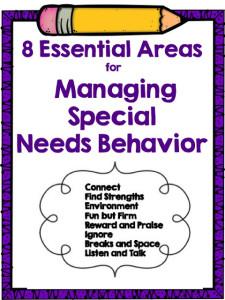 8 Essential Areas for Managing Special Needs Behavior