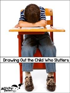 It's extremely important for teachers to use patience and give grace when drawing out the child who stutters in the classroom. Our guest blogger, a speech-language pathologist, provides some insight into how students with stutters might be feeling and provides several tips for helping them find success when asked to speak in the classroom. Click through to read more.
