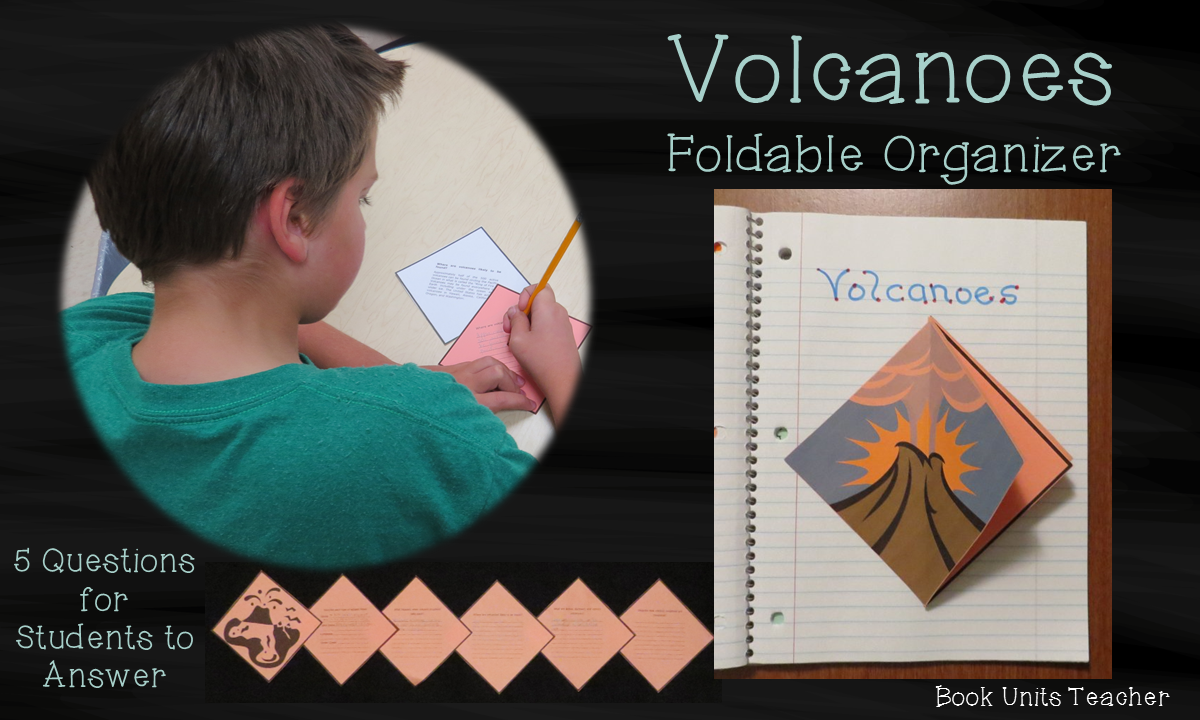 Volcanoes Foldable Organizer