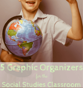 The teaching environment in your social studies classroom is sure to improve once you start including these five graphic organizers into your instruction! Each of the graphic organizers discussed in this guest post have their own use, but they get students engaged in learning and give them opportunities to interact. Click through to read more!