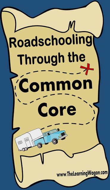 Roadschooling through the Common Core