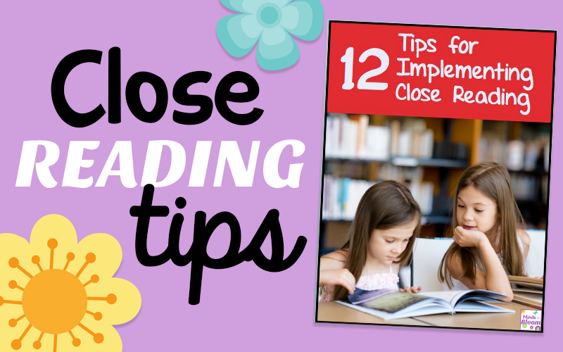 Close Reading Tips!