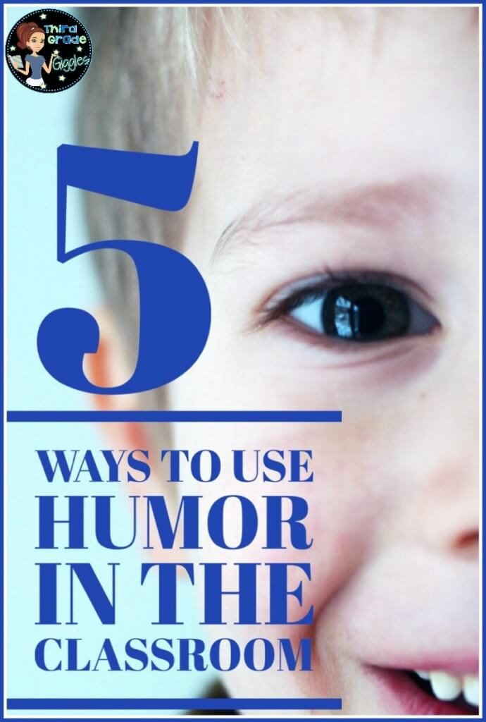 Our guest blogger shares five fantastic ways to use humor in the classroom. We all know learning is more effective and productive with a little humor! So, click through to read this post that offers tips for a few ways to use humor in the classroom.