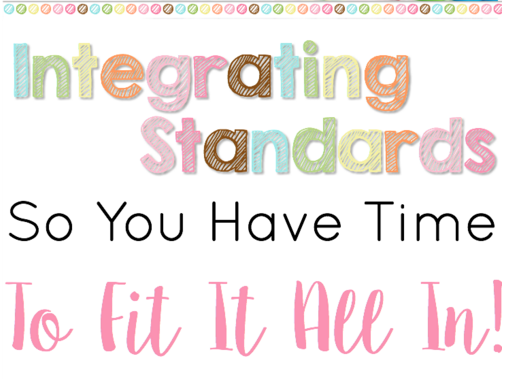 Teachers everywhere know how hard it is to fit in all your standards so that you teach everything you're supposed to teach in a school year. Often, teachers don't meet this high expectation, because there's just too much. How can we start making it happen? Our guest blogger shares her insight on integrating standards so that you can fit more curriculum into your lessons - curriculum that's interdisciplinary! Click through to read more.