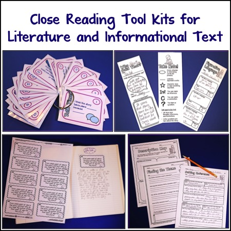 close reading tool kit for informational text