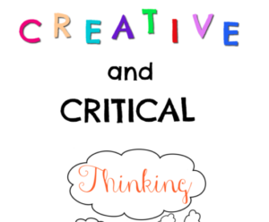 Learn a few new methods for employing creative and critical thinking in your class. Despite a focus on reading, these can be used in any content area!