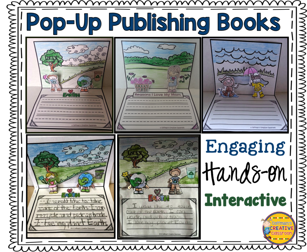 Have you tried pop-up books in your classroom? Your students will go crazy over these fun, interactive writing activities! Get all of your kids excited to write by trying out the pop-up books our guest blogger describes in this post.