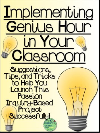 Learn about how to incorporate Genius Hour in your classroom! Take notes from huge corporations like Google and 3M, which allow their employees time to explore their passions as side projects. The same idea can be used with your students to inspire creativity, passion, and engagement!