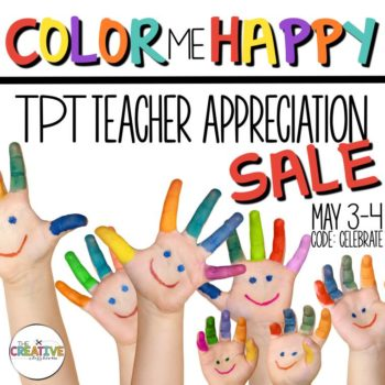 TpT Sale May 2016