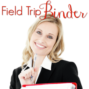 Field Trip Binder