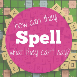 We're always told to have high expectations for students, and it's not that we shouldn't, but how can we expect some kids to spell what they can't say? Let's help our students with speech sound disorders (SSD) be more successful.