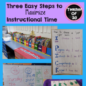 Do you often feel like you're losing instructional time? These three easy steps will help you maximize instructional time to ensure that you're making the most of every moment and not losing precious time to teach essential content.