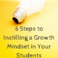 Growth mindset is a hot topic in the education field these days, but some teachers aren't sure how to teach about it. Our guest blogger shares six steps to instilling a growth mindset in your students. These are based off of her research about growth mindset and Carol Dweck's studies.
