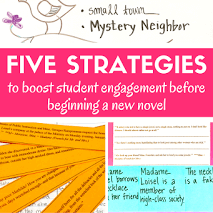 5 Strategies to Boost Student Interest before Starting a New Novel
